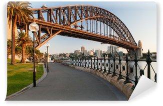 Vinylová Fototapeta Sydney Harbour Bridge at Sunrise