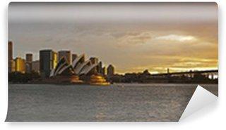 Vinylová Fototapeta Sydney přístav velké panorama