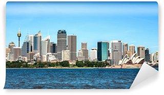 Vinylová Fototapeta Sydney skyline panorama