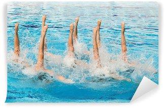 Vinylová Fototapeta Synchronizovaného plavání
