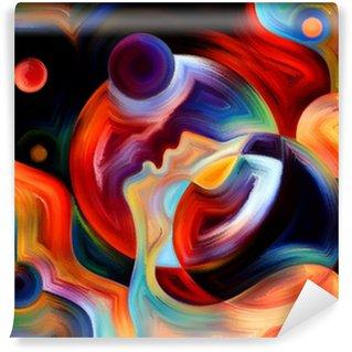 Vinylová Fototapeta Synergie Vnitřního Paint