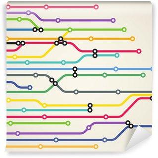 Fototapeta Winylowa System metra abstrakcyjna kolor tła