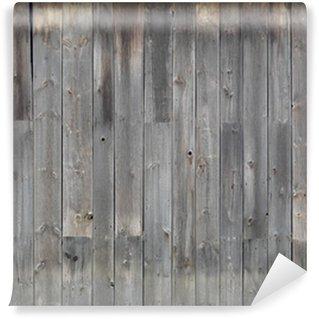 Fototapeta Winylowa Szary tekstury ścian drewnianych