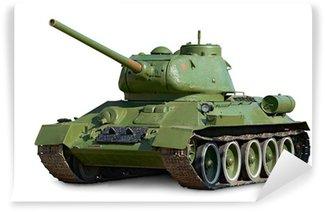Vinylová Fototapeta T-34 Sovětský střední tank během druhé světové války