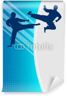 Vinylová Fototapeta Taekwondo - 4