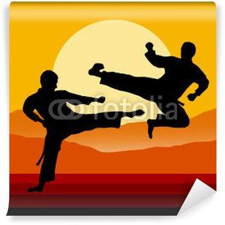 Vinylová Fototapeta Taekwondo - 5