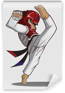 Vinylová Fototapeta Taekwondo bojové umění