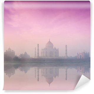 Vinylová Fototapeta Taj Mahal na východ a západ slunce, Agra, Indie