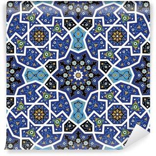Vinylová Fototapeta Tanger Bezešvé květinový vzor