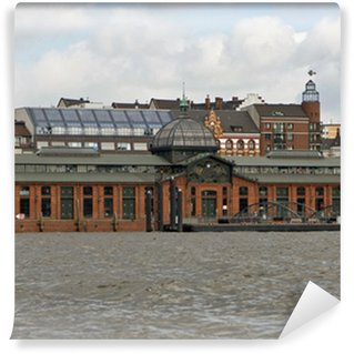 Fototapeta Winylowa Targ rybny Altona, targ rybny, Hamburg
