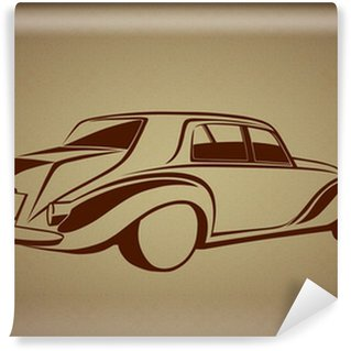 Vinylová Fototapeta Tarihi bir otomobil logosu