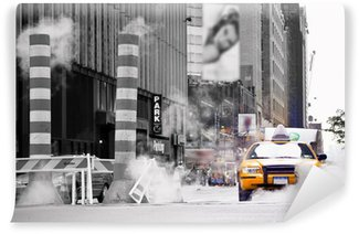 Fototapeta Vinylowa Taxi new york