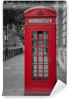 Vinylová Fototapeta Telefonní budky v Londýně