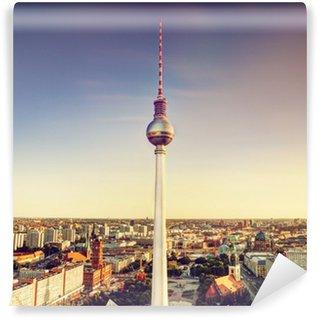 Vinylová Fototapeta Televizní věž nebo Fersehturm v Berlíně, Německo