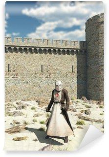 Vinylová Fototapeta Templar Knight venku Walls Antiochie