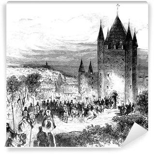 Vinylová Fototapeta Templáři - Templar
