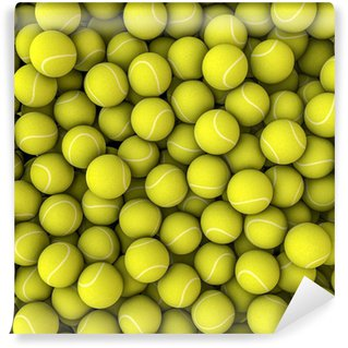 Vinylová Fototapeta Tenisové míče pozadí