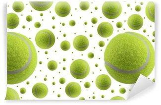 Vinylová Fototapeta Tenisové míčky na bílém pozadí