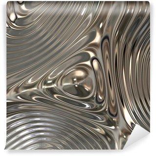 Vinylová Fototapeta Textura kovu, Chrome