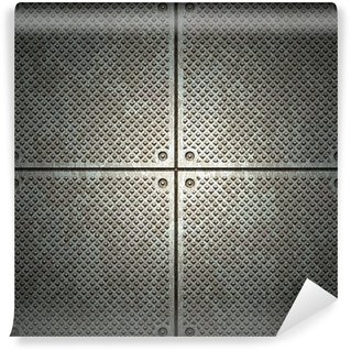 Vinylová Fototapeta Textura kovu