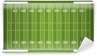 Vinylová Fototapeta Texturou trávy Americký fotbal pole