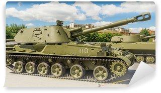 Vinylová Fototapeta Těžký tank exponát War Museum