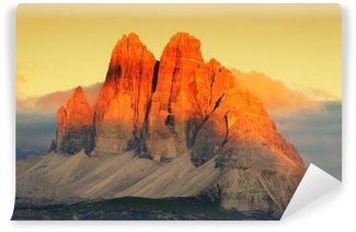 Vinylová Fototapeta Three Peaks