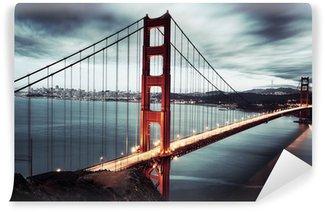 Vinylová Fototapeta Tmavý most