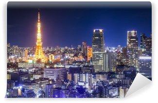 Vinylová Fototapeta Tokio, Japonsko Skyline