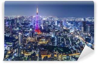 Vinylová Fototapeta Tokyo Japan City Skyline