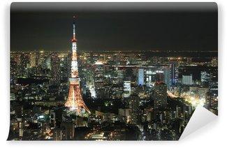Vinylová Fototapeta Tokyo Tower v Tokiu, Japonsko