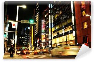Vinylová Fototapeta Tokyo v noci