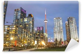 Vinylová Fototapeta Toronto panorama, Kanada