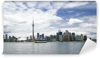 Vinylová Fototapeta Toronto panorama města s věží CN
