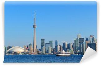Vinylová Fototapeta Toronto panorama v den