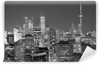 Vinylová Fototapeta Toronto soumrak