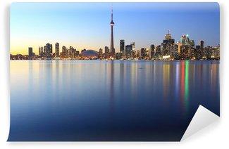 Vinylová Fototapeta Toronto v noci