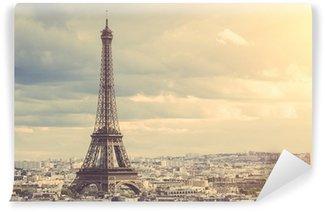 Fototapeta Winylowa Tour eiffel w Paryżu