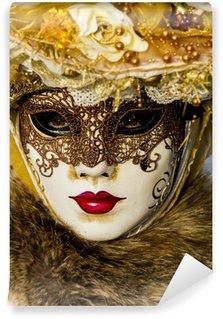 Vinylová Fototapeta Tradiční benátský karneval masky