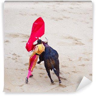 Vinylová Fototapeta Tradiční corrida - býčí zápasy ve Španělsku