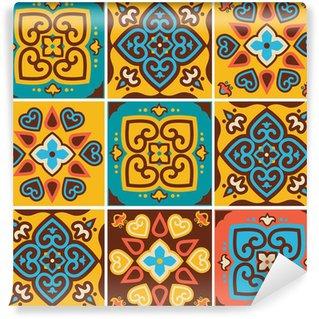 Vinylová Fototapeta Tradiční keramické obklady vzory