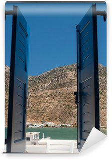 Vinylová Fototapeta Tradiční řecké Windos na ostrově Sifnos, Řecko