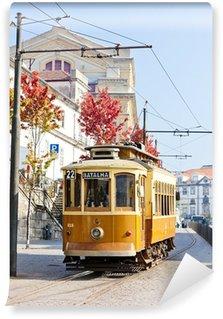 Vinylová Fototapeta Tramvaj, Porto, Portugalsko