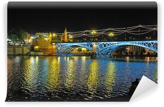 Vinylová Fototapeta Triana Bridge, Seville, Španělsko