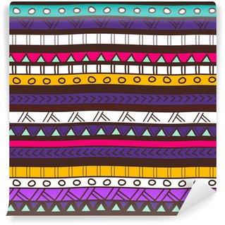 Vinylová Fototapeta Tribal textury
