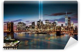 Vinylová Fototapeta Tribute in Light památníku 11. září 2014