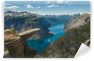 Vinylová Fototapeta Trolltunga, Troll je jazyk rock, Norsko