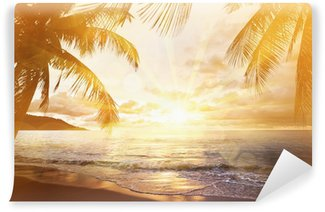 Fototapeta Winylowa Tropikalna plaża