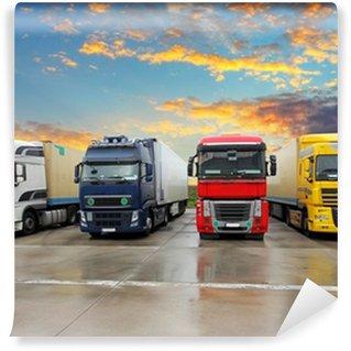 Vinylová Fototapeta Truck - Nákladní doprava