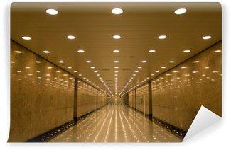 Vinylová Fototapeta Tunel světel